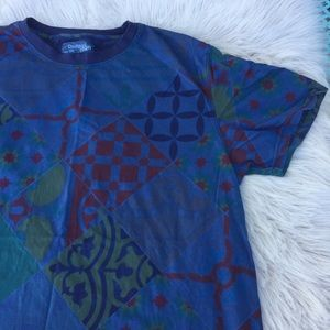 Desigual men's t-shirt  designer retro  abstract